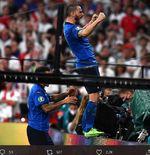 Final Euro 2020: Koyak Gawang Inggris, Leonardo Bonucci Pemain Tertua yang Cetak Gol di Piala Eropa