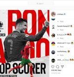 Melalui Instagram, Cristiano Ronaldo Ucapkan Terima Kasih atas Gelar Top Skor Euro 2020