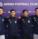 Arema FC Umumkan Tambahan Empat Pemain Baru Sekaligus untuk Liga 1 2021-2022