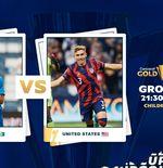 Link Live Streaming Martinique vs Amerika Serikat di Piala Emas CONCACAF 2021
