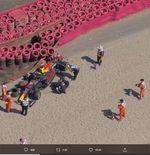 Hasil F1 GP Inggris: Max Verstappen Tabrakan, Lewis Hamilton Juara