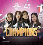 Alter Ego Dione Rebut Gelar Juara Ladies Battle PMNC 2021 Indonesia