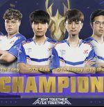 Wakil Thailand, dtac Talon Esports, Berhasil Juara AOV World Cup 2021