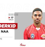 WONDERKID: Daniel Naa, Aset Lini Pertahanan Bhayangkara FC Jebolan Inggris