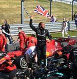 Max Verstappen Kesal Melihat Lewis Hamilton Berselebrasi Seusai F1 GP Inggris 2021