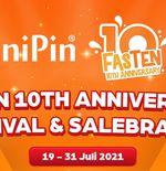 Rayakan Satu Dekade, UniPin Adakan Festival di Tiga Negara Berbeda