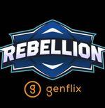 Rebellion Genflix Resmi Perkenalkan Roster untuk MPL ID Season 8