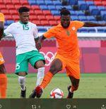 Hasil Sepak Bola Putra Olimpiade Tokyo Grup D: Franck Kessie Bawa Pantai Gading Menang atas Arab Saudi