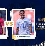 Link Live Streaming Qatar vs El Salvador di Piala Emas CONCACAF 2021