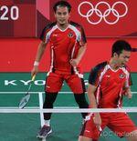 Hasil Bulu Tangkis Olimpiade Tokyo 2020: Main Tenang, Mohammad Ahsan/Hendra Setiawan Kunci Tiket Semifinal