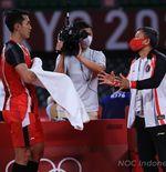 Hasil Bulu Tangkis Olimpiade Tokyo 2020: Jonatan Christie Tersingkir di 16 Besar