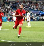 VIDEO: Gol Telat Harry Kane Antar Inggris Meraih Kemenangan atas Tunisia di Piala Dunia 2018