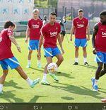 VIDEO: Sergio Busquets dan Jordi Alba Lengkapi Kekuatan Barcelona di Pramusim