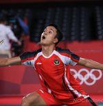 Lolos ke Semifinal Olimpiade Tokyo, Anthony Ginting Akhiri Masa Kelam Tunggal Putra Selama 17 Tahun