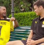 VIDEO: Kenakan Nomor 7, Giovanni Reyna Ingin Tingkatkan Permainan bersama Borussia Dortmund