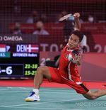 Hasil Bulu Tangkis Olimpiade Tokyo 2020: Kalah dari Chen Long, Anthony Ginting Gagal ke Final