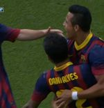 VIDEO: Gol Fantastis Alexis Sanchez untuk Barcelona saat lawan Atletico Madrid