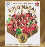 Hasil Final Sepak Bola Putri Olimpiade Tokyo 2020: Kanada Sabet Medali Emas