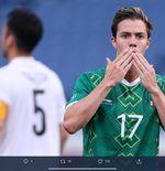 Hasil Sepak Bola Putra Olimpiade Tokyo: Kalahkan Jepang, Meksiko Rebut Medali Perunggu