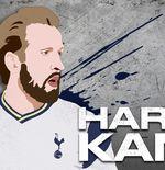 Rekening Gol di Liga Inggris 2021-2022 Masih Nol, Ada Apa dengan Harry Kane
