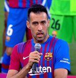 VIDEO: Sergio Busquets Ucapkan Terima Kasih kepada Lionel Messi