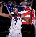 Best 5 Pebasket di Olimpiade Tokyo 2020, Hanya Kevin Durant yang Mewakili Amerika Serikat