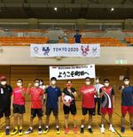 Tim Bulu Tangkis Paralimpiade Indonesia Dapat Kehormatan dengan Dikunjungi Wali Kota Machida