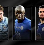 4 Anggota Chelsea Masuk Nominasi Penghargaan UEFA, Termasuk Jorginho dan Kante