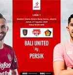 Link Live Streaming Bali United vs Persik Kediri di Laga Pembuka Liga 1 2021-2022