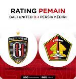 Skor Indeks Liga 1 2021-2022: Rating Pemain Bali United vs Persik Kediri