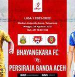 Prediksi Liga 1 2021-2022: Bhayangkara FC vs Persiraja Banda Aceh