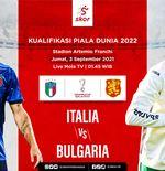 Prediksi Italia vs Bulgaria: Duel Bumi dan Langit