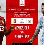 Prediksi Venezuela vs Argentina: Meski Diunggulkan, Juara Copa America Harus Hati-Hati