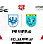 Prediksi Liga 1 2021-2022: PSIS Semarang vs Persela Lamongan