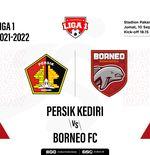 Prediksi Liga 1 2021-2022: Persik Kediri vs Borneo FC