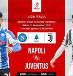 Link Live Streaming Napoli vs Juventus di Liga Italia