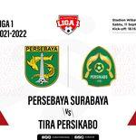 Prediksi Liga 1 2021-2022: Persebaya Surabaya vs Tira Persikabo
