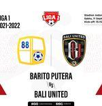 Link Live Streaming Barito Putera vs Bali United