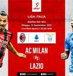 Link Live Streaming AC Milan vs Lazio di Liga Italia