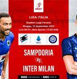 Link Live Streaming Sampdoria vs Inter Milan di Liga Italia