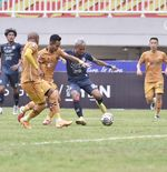 Hasil Arema FC vs Bhayangkara FC: Lawan Sepuluh Pemain, Singo Edan Gagal Menang