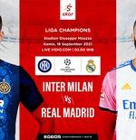 5 Duel Ikonik Inter Milan vs Real Madrid, Termasuk Gelar Pertama Nerazzurri di Liga Champions