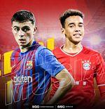Barcelona vs Bayern Munchen: Duel Gelandang Muda Mentereng, Pedri lawan Musiala