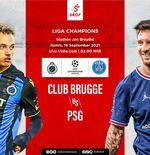 Prediksi Club Brugge vs PSG:  Potensi Debut Trio Messi-Neymar-Mbappe