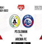 Hasil PS Sleman vs Arema FC: Elang Jawa Perpanjang Derita Singo Edan