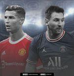 Jomplang, Komparasi Cristiano Ronaldo vs Lionel Messi sejak Pindah Klub