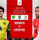 Prediksi Norwich City vs Liverpool: Waspada The Reds, Bisa jadi David vs Goliath