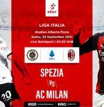 Prediksi Spezia vs AC Milan: Iblis Merah Usung Revans