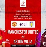 Prediksi Manchester United vs Aston Villa: Setan Merah Berpotensi Duetkan Cristiano Ronaldo-Edinson Cavani