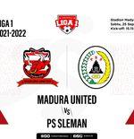 Prediksi Madura United vs PS Sleman: Ambisi Laskar Sapeh Kerrab Tinggalkan Zona Merah